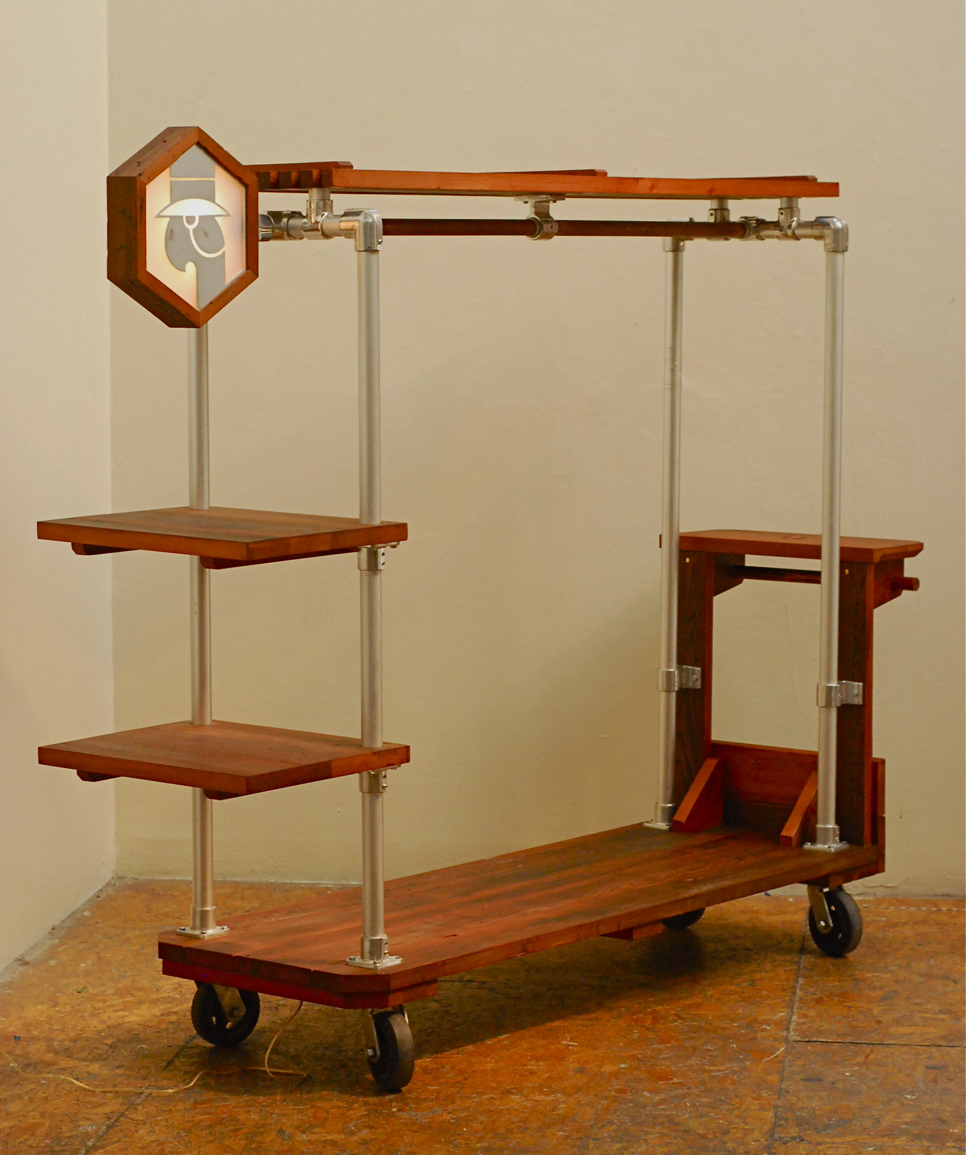 Free mission desk lamp woodworking plans, Tools For Wood Inlay