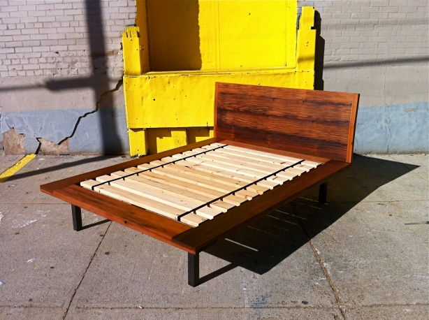 DIY King Size Platform Bed Frame With Storage Plans Wooden ...