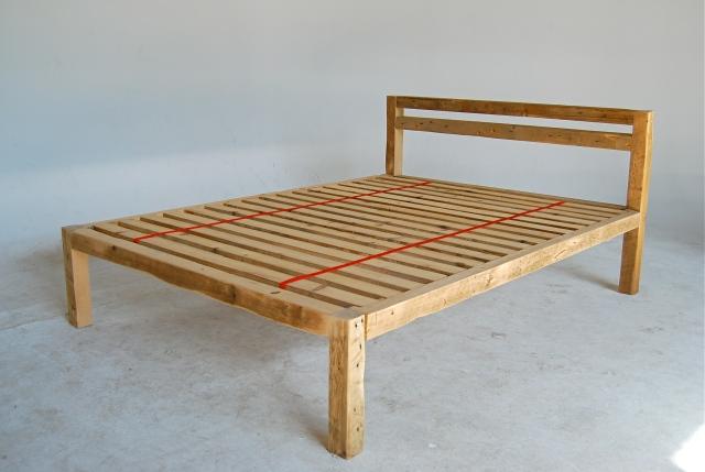 Reclaimed wood platform bed plans medieval furniture for How to build a wood platform