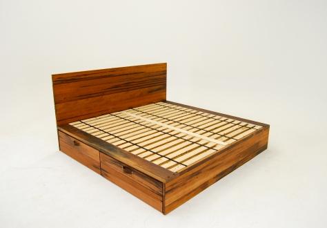 solid wood platform bed plans